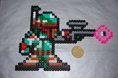 Star Wars Boba Fett hama beads by kitsunespe on deviantart