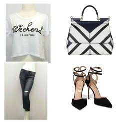 """""""Untitled #7"""" by malika-craft on Polyvore featuring Sergio Rossi and Dolce&Gabbana"""