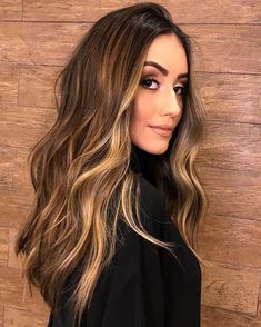 194 hottest dark brown hair colors to inspire you – page 1 Balayage Ombré, Brown Hair Balayage, Brown Ombre Hair, Brown Blonde Hair, Brown Hair With Highlights, Light Brown Hair, Ombre Hair Color, Hair Color Balayage, Dark Hair