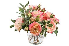 Rose in Glass, Xsmall, Pink on OneKingsLane.com
