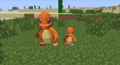 charmander+pixelmon=cool