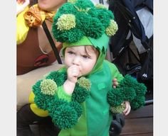 """We love this costume! """"Inspire kids everywhere to eat more vegetables when they need it most."""""""