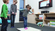 A new take on HOPSCOTCH is designed to motivate the user to move more but in a playful way . . .  by Gizmag