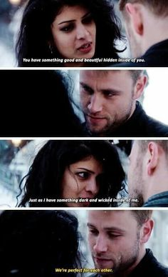 Sense8 Christmas Special. Kala and Wolfgang.