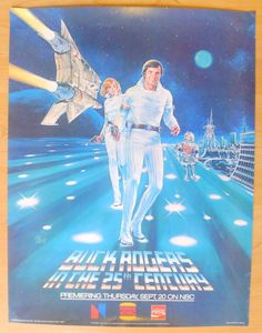 Buck Rogers In The 25th Century Burger King Promotional Poster Vintage 1979