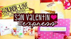 REGALOS EXPRESS para San Valentín: Amor y Amistad ✄ Craftingeek - YouTube