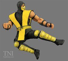Storm Collectibles 1:12 Scale Mortal Kombat Scorpion Figure Video Review & Images