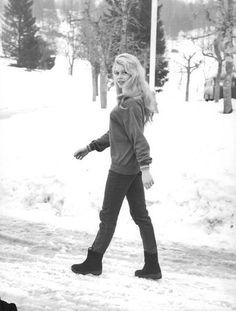 Brigitte Bardot in Cortina d'Ampezzo, 1958