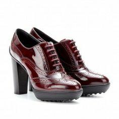 Zapatos rojos invierno 2013: fotos modelos