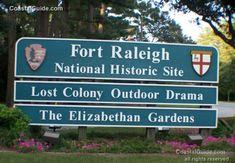 Fort Raleigh National Historic Site :: Outer Banks / Roanoke Island, North Carolina .............................................................................. CoastalGuide