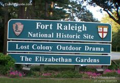 Fort Raleigh National Historic Site :: Outer Banks / Roanoke Island,  North Carolina .............................................................................. CoastalGuide
