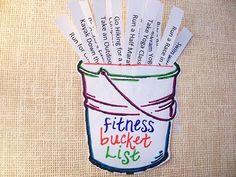 Fitness buscket list