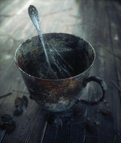 Old Cup on Behance by Volkan Kaçar