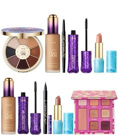 Tarte Beauty At Your Fingertips Color Collection QVC Today's Special Value for February 2019 – Musings of a Muse Tarte Sea, Eyeliner, Eyeshadow, Liquid Liner, Waterproof Mascara, Makeup Collection, Muse, Jazz