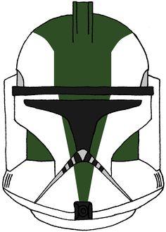 Clone Trooper Commander Gree's Helmet 1