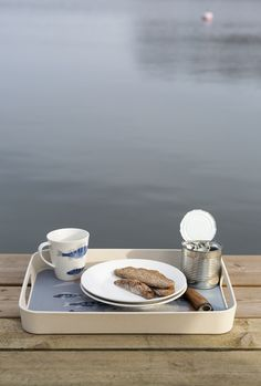 Ahti Tray   Pentik   Designed by Lasse Kovasen, this Ahti tray brings to mind those hazy summer mornings, fishing trips and loon cries, both in the cottage and at home.