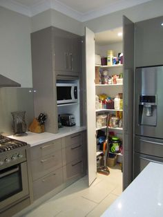 angolo dispensa | Kitchen | Pinterest | Dispensa, Cucina ad angolo e ...