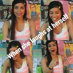 """Lilly be like: """"Dang I'm hecka funny! Now I see why I have 3,0000 subscribers!"""""""