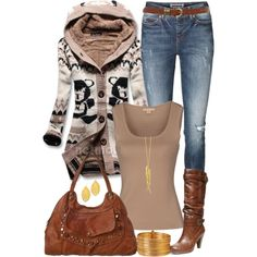 """Fall Browns"" by angela-windsor on Polyvore"