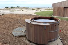 We worked with Mark Lindsay Construction to bring the customer a simple and effective hot tub to use with his family and for entertaining with friends. Outdoor Furniture, Outdoor Decor, Colonial, Tub, Construction, Entertaining, Friends, Simple, Building
