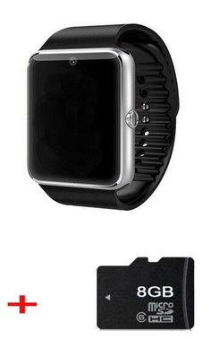 GT08 Clock Bluetooth Smart Watch for Android Universal Used as Phone with SIM Camera Mic Music Sync Message Better than U8 DZ09
