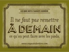 Les Bons Mots d'Auguste Derrière Auguste Derriere, Funny Bunnies, Puns, Decir No, Affirmations, Haha, Jokes, Messages, Thoughts