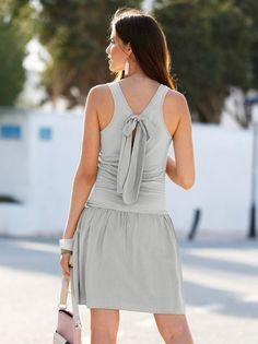 46 nuevo Vestido vestido de verano vestido Jersey estuche vestido viscosa azul Gr