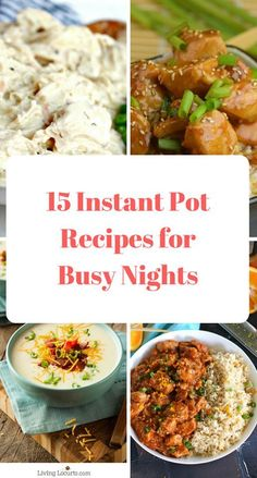 "Insta Pot Recipes for Busy Nights - move over slow cooker, enter Insta Pot - delicious recipes, made in less than 30minutes, but with all the flavours of the crock pot. No more ""lingering"" crock pot smells, but delicious meals for busy nights for all the family to enjoy. Take a look today!"