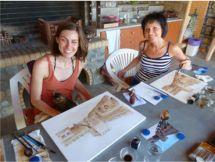 Malen und Zeichnen mit Willy Dorn 2015