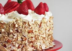 A very fancy Strawberry Shortcake Cake Recipe - The Answer is Cake