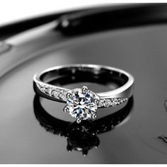 White Gold Plated 925 Sterling Silver CVD Synthetic Diamond Inlaid Ring>>>>  25% off discount for new subscriber. Free UPS shipping.  This Ring is unique enough, wearing elegant, rich flavor and the popular fashion element. Wear it will let you out of the ordinary, stand in the forefront of popular. In addition,this Ring is inexpensive and durable. It will be an...  #couple #ring #coupler…