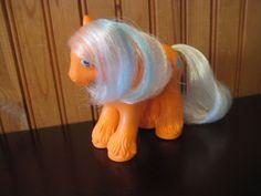 Vintage My Little Pony Wigwam Big Brother Pony Orange Exc Condition #Hasbro
