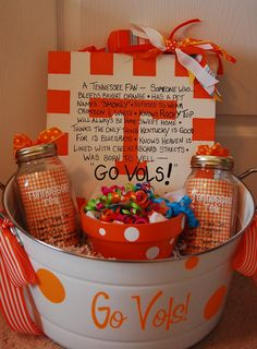Funny Tennessee Vols | This is a University of Tennessee Tailgate Tub that was donated for a ...