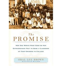 This marvelous and inspiring book is the amazing story of Brown's unending desire to make a difference by guiding a group of students from first grade to college. Brown and her foundation are now committed to adopting a new crop of kids to send to college every four years.