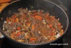 Kremet kjøttdeiggryte | Lavkarbo gjort enkelt