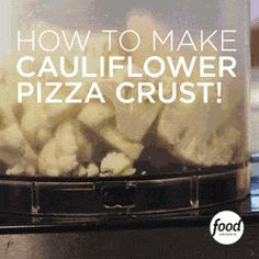Learn how to make Prosciutto Pizza with Cauliflower Crust - you won't believe it's gluten-free! http://www.foodnetwork.com/chefs/food-network-kitchens.html