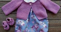 El jueves pasado os enseñé la ropita que había hecho para bebé.       Os dije que iría diciendoos donde encontré los patrones y tutoriales d... Baby Boy Knitting Patterns, Tabata, Boys, Sweaters, Fashion, Knit Jacket, Knitting For Beginners, Baby Knits, Shoes