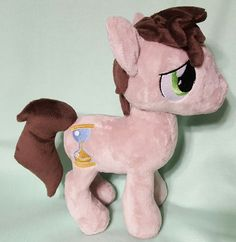 11th Doctor Inspired plush pony by Mihijime on Etsy