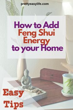 Simple ways to start applying Feng Shui in your home for a better life. Find out how to add Feng Shui good vibes in your kitchen, living room, bathroom and how declutering your home can add good Feng Shui to your life. Feng Shui Basics, Feng Shui Rules, Feng Shui Items, Feng Shui Principles, Feng Shui Art, Feng Shui House, Feng Shui Symbols, Feng Shui Bathroom, Feng Shui Your Bedroom