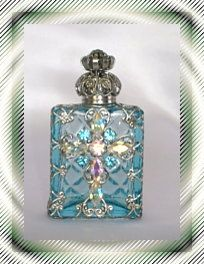 """Catherin Of Aragon """"Queen of England"""" Perfume Bottle"""