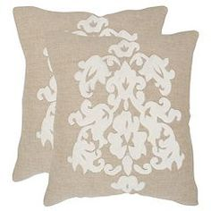 Margie 2-piece 20'' x 20'' Throw Pillow Set