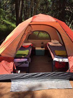 Camping survival, camping set up, travel trailer camping, camping hacks, ca Camping And Hiking, Camping Hacks, Camping Diy, Camping Set Up, Travel Trailer Camping, Camping Glamping, Camping Supplies, Beach Camping, Camping Survival