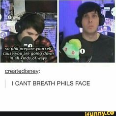 *Insert lenny face here*<<<PHIL LOOKS LIKE HE'S TRAINED FOR THIS HIS WHOLE LIFE HA