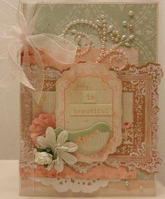 Songbird Wedding Card - Scrapbook.com