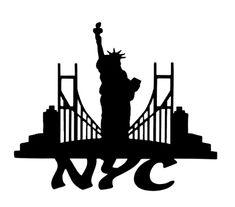 NYC Scrapbooking Laser Cut Title with Skyline New York Scrapbooking, Nyc Train, Family World, Printable Paper, Airbrush, Laser Cutting, Layouts, Card Stock, Stencils