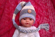Babymütze Zipfelmütze Wichtelmütze Babyfotographie