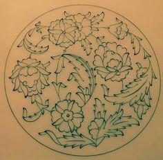 . Islamic Art Pattern, Arabic Pattern, Pattern Art, Dot Art Painting, Pottery Painting, Illumination Art, Arabesque Pattern, Turkish Art, Islamic Art Calligraphy