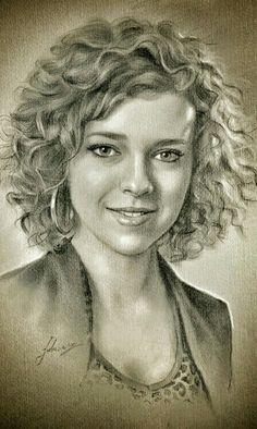 #Drawing portrait#pencil sketch