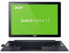 "Планшет Acer Aspire Switch Alpha 12 Dock (MS Windows 10 Home (64-bit)/i7-6500U 2500MHz/12.0"" (2160x1440)/8192Mb/256Gb/ ) [NT.LCDER.016]  — 85600 руб. —  12.0"" Intel 2500 МГц 8192 Мб SSD 256 Гб MS Windows 10 Home (64-bit) бат. - до 8.0 ч Серый"
