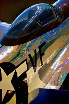 An admiration of the beauty of the classic warbirds. Ww2 Aircraft, Fighter Aircraft, Military Aircraft, Photo Avion, V Max, Airplane Art, Vintage Air, Vintage Travel, P51 Mustang